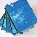 Gedankenbuch Original Cyanotypie